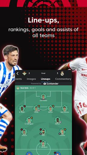 La Liga Official App - Live Soccer Scores & Stats 7.4.8 Screenshots 14