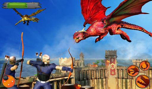 Flying Dragon Battle Simulator : City Attack  screenshots 8