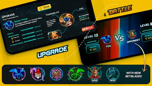 Bladers: Online Multiplayer Spinning Tops  screenshots 3