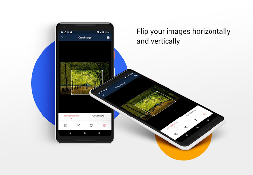 Crop Image - Rotate image and Flip image