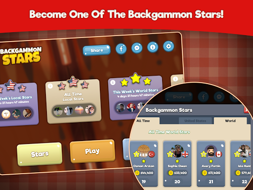 Backgammon Stars, Tavla 2.22 screenshots 16