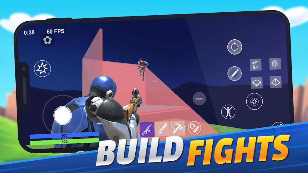 1v1.LOL - Third Person Shooter Building Simulator poster 0