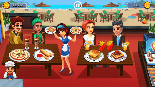 Cooking Cafe - Food Chef 4.0 screenshots 2