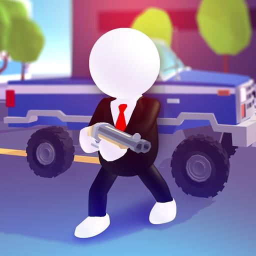 Rage Road - Car Shooting Game Icon