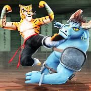 Download Game Game Kung Fu Animal Fighting Games: Wild Karate Fighter v1.1.3 MOD FOR ANDROID - MENU MOD | DMG MULTIPLE | DEF MULTIPLE APK Mod Free