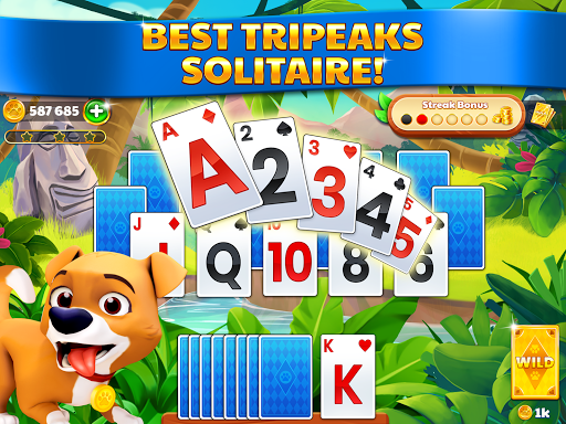Solitaire Tripeaks: Adventure Journey 1.5.1 screenshots 21