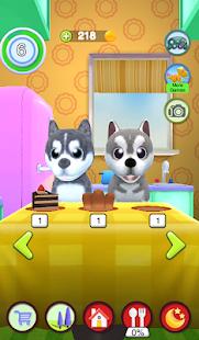 Talking Husky Dog