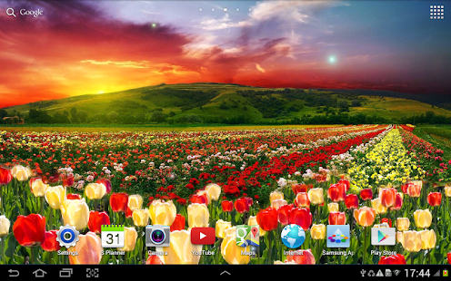 Spring Nature Live Wallpaper Screenshot