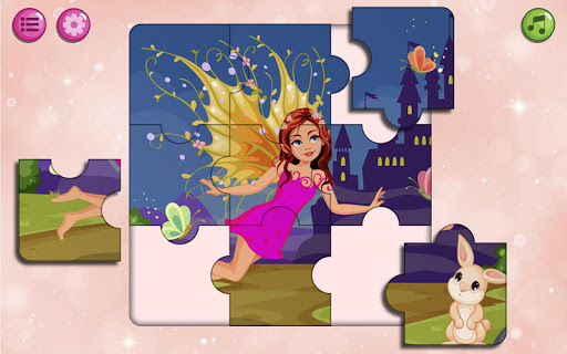 kids puzzles game for girls & boys screenshot 2