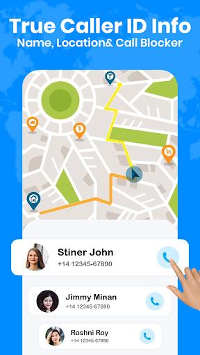 True ID Caller Name and Address Location Tracker screenshot 1