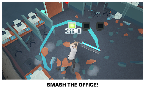 Smash the Office - Stress Fix! Screenshot