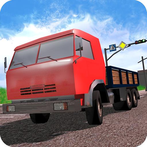 Racing in Flow - Trucks Icon