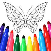 icono Juego de niñas Pintura y coloración.