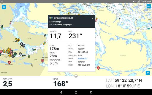 Eniro På sjön - Gratis sjökort  screenshots 11