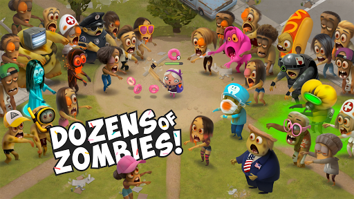 Kids vs Zombies: Brawl for Donuts screenshots 1