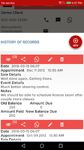 Client Records: CRM, Customer Contacts & Leads App