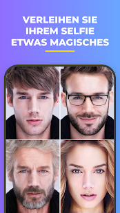 FaceApp – Face Editor, Veränderungs und Beauty-App Screenshot