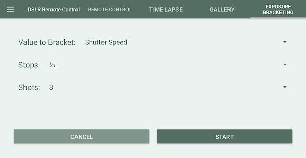 DSLR Control - Camera Remote Controller Screenshot