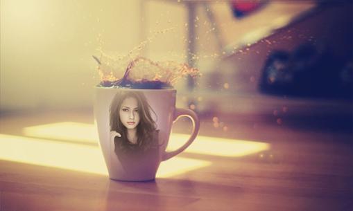 Coffee Cup Photo Frame 2