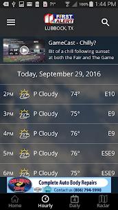 KCBD First Alert Weather 5.0.1100 APK + MOD (Unlocked) 2