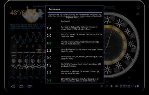Weather app & widget with barometer: eWeather HDF  Screenshots 14