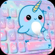 Lovely Unicorn Whales Keyboard Theme