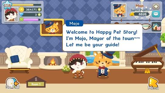 Happy Pet Story MOD APK (Unlimited Gems) 3