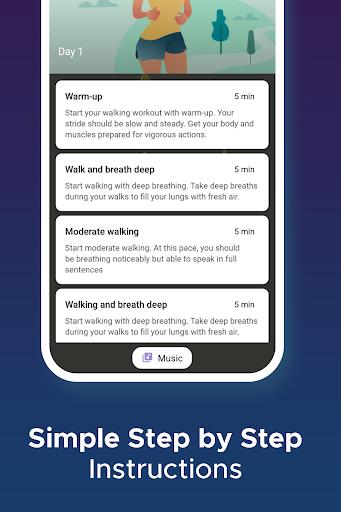 Walking for weight loss app  screenshots 4