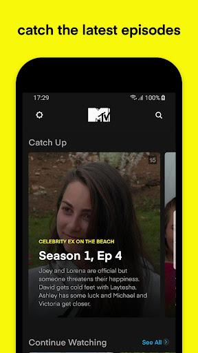 MTV Play - on demand reality tv screenshots 2