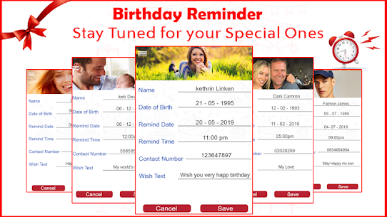 Birthday Reminder: Birthday Photo For Pc | How To Download For Free(Windows And Mac) 4