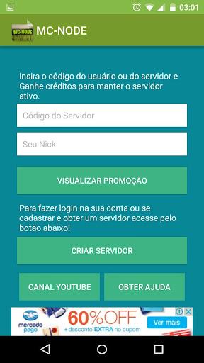 mc-node - create your own minecraft server free screenshot 1