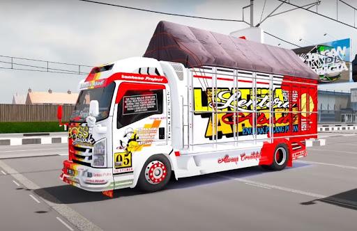 Truck Simulator Indonesia : Livery Bussid apklade screenshots 1