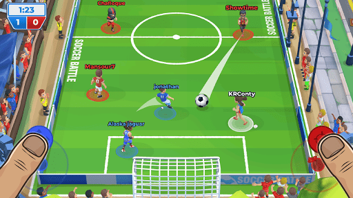 Soccer Battle - 3v3 PvP  screenshots 5