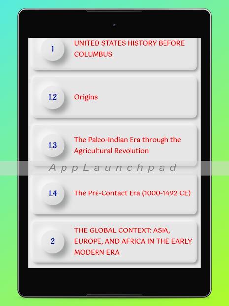 History Of United States: USA History screenshot 7