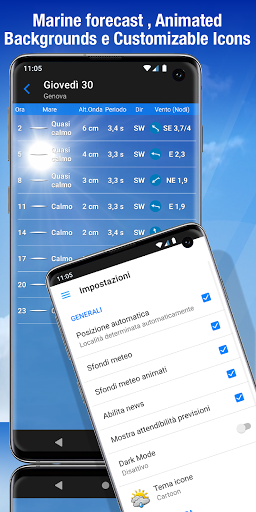 The Weather: weather forecast by iLMeteo  screenshots 7
