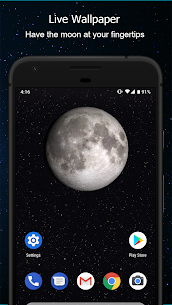 Phases of the Moon Calendar & Wallpaper Free 4