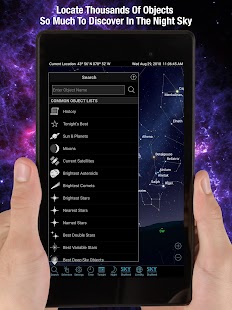 SkySafari - Astronomy App Screenshot