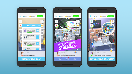 Idle Streamer! 1.41 Screenshots 14