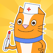 Cats Pets: Pet Doctor Games! Animal Doctor Games!