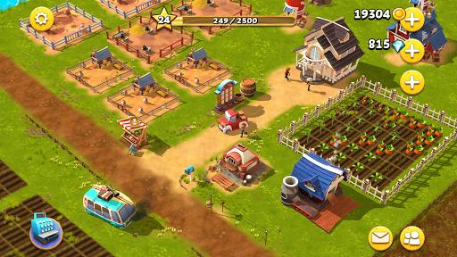 Happy Town Farm Games - Farming & City Building 1.4.0 Screenshots 14