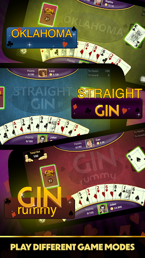 Gin Rummy - Offline Free Card Games 1.4.1 Screenshots 18