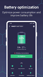 Fancy Battery - Battery Saver, Booster, Cleaner 3.1.8 (Premium)