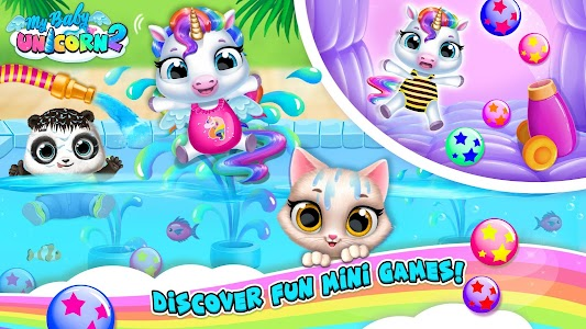 My Baby Unicorn 2 - New Virtual Pony Pet 1.0.49