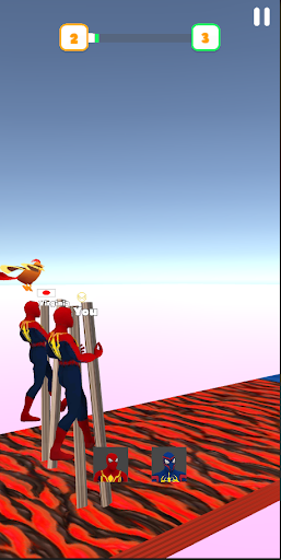 Super Hero Transform Race - Spider Racing Game 3D 0.6 screenshots 9
