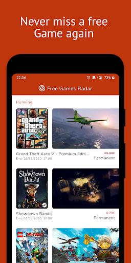 Free Games Radar for Steam, Epic Games, Uplay  Screenshots 1