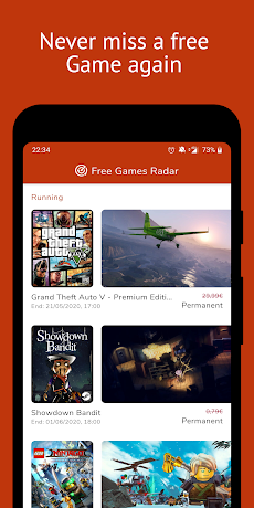 Free Games Radar for Steam, Epic Games, Uplayのおすすめ画像1