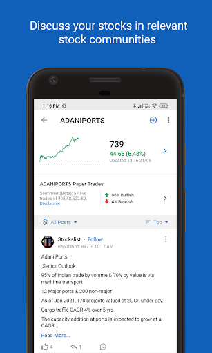 Foto do FrontPage: Social Network for Traders & Investors