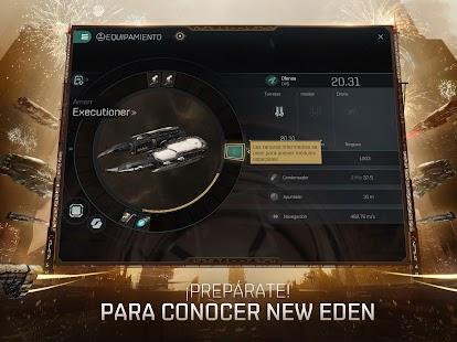 Schermata degli echi di EVE