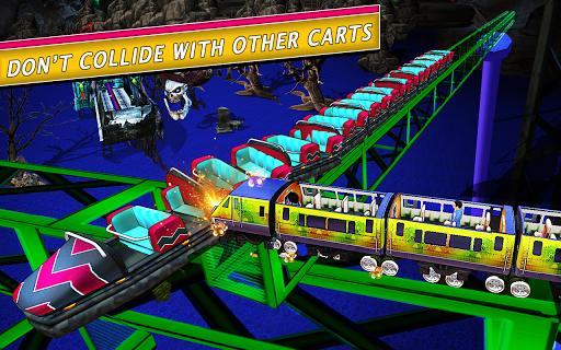 Télécharger Roller Coaster Simulator 2020 APK MOD (Astuce) screenshots 2