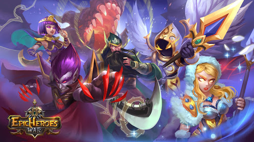Epic Heroes War: Action + RPG + Strategy + PvP modavailable screenshots 5